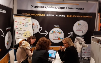 Digital learning et dessin : retour sur Learning Technologies