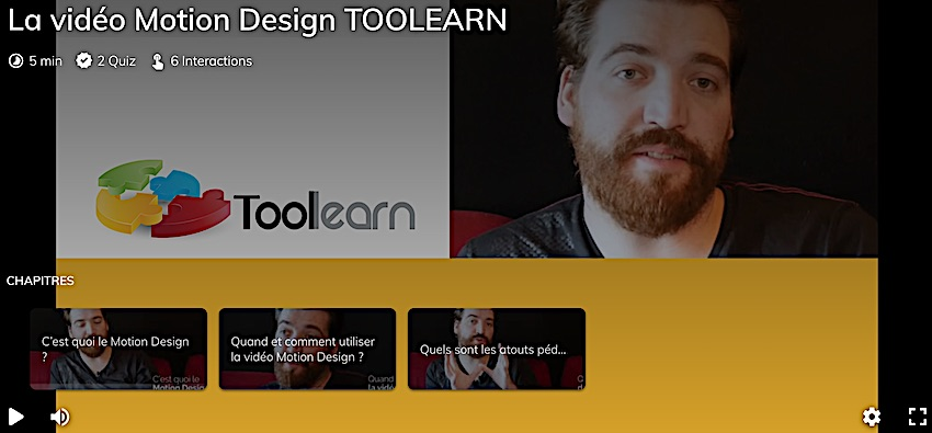 VIDEO INTERACTIVE TOOLEARN