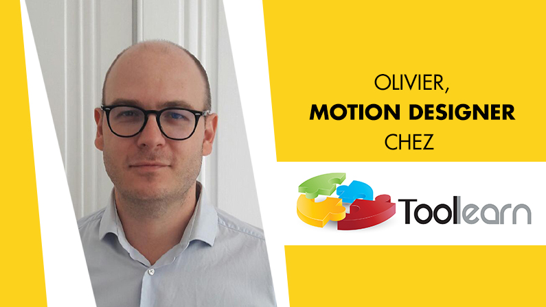 Tribu Toolearn : Olivier, illustrateur & Motion Designer