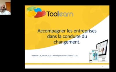 « Rien n'est permanent sauf le changement »  Webinaire Toolearn – La vidéo pédagogique pour accompagner le changement en entreprise