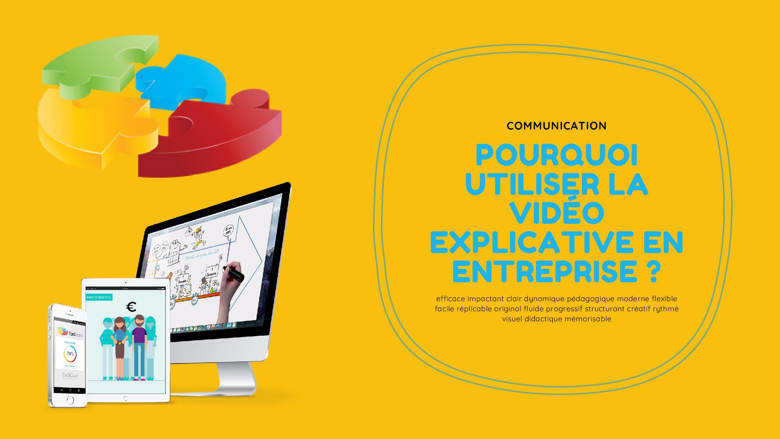 Pourquoi utiliser la vidéo explicative en entreprise ?
